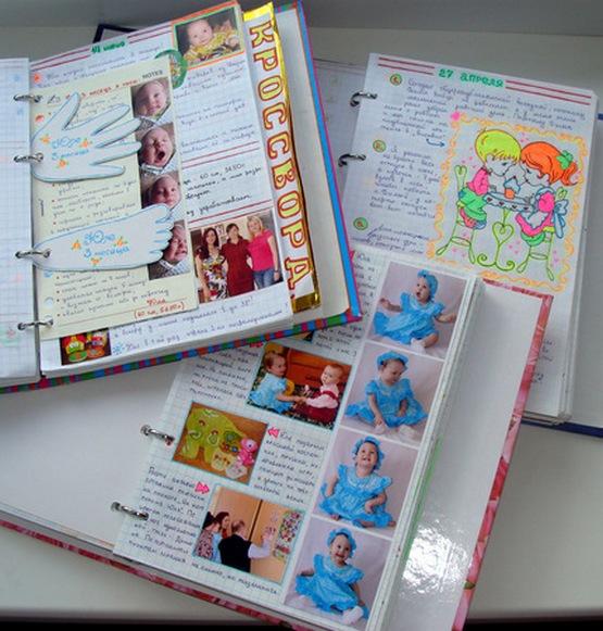 Декор своими руками для личного дневника 61