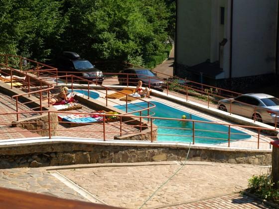 бассейн в санатории Солнечный