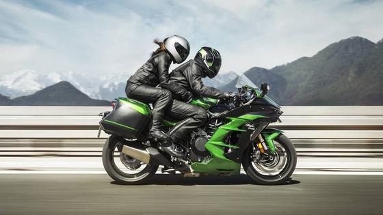 японский мотоцикл Kawasaki