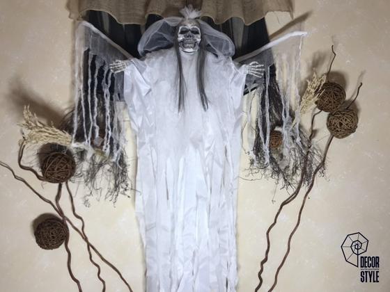 Подвесной декор Невеста в белой мантии