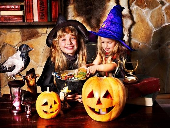 дети на хеллоуин