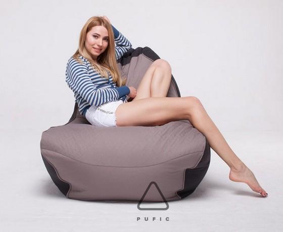 Кресла-мешки из ткани жаккарда