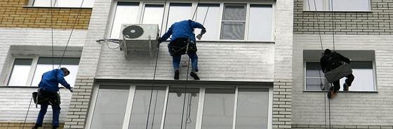 ремонт фасадов в Киеве