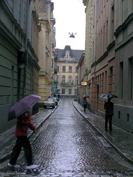 дождь во Львове