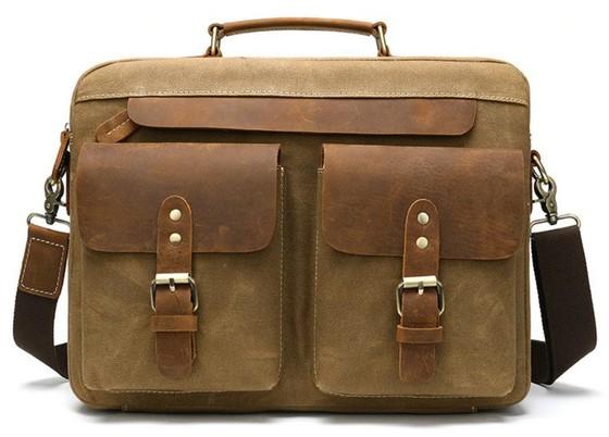 деловой портфель из натуральной кожи