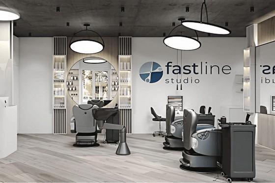 салон франчайзинговой сети Fast Line