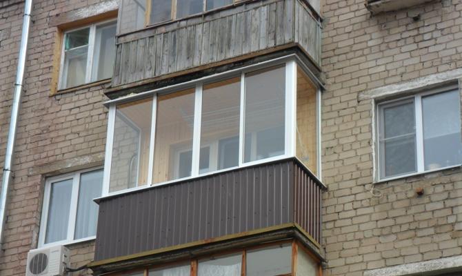 Выбор материалов для внешней отделки балкона