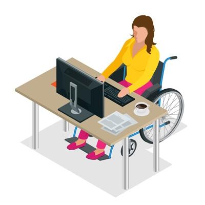 Первого марта – предельный срок сдачи отчета о трудоустройстве лиц с инвалидностью